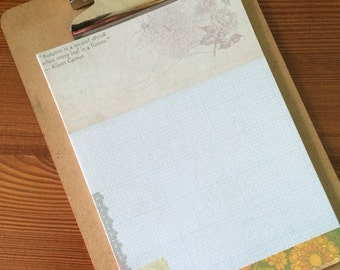 A Second Spring- Autumn themed writing paper- stationery