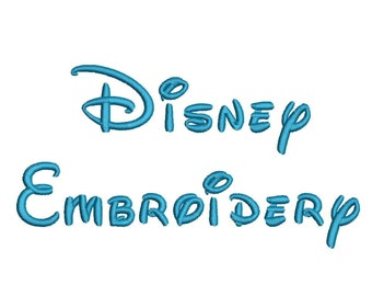 Disney Embroidery Font Machine Embroidery Alphabet Monogram Font Designs 5 Size BX Embroidery Fonts - INSTANT DOWNLOAD