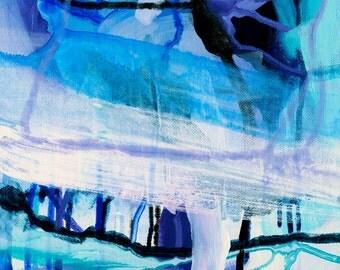 Giclee Fine Art Print | Violet Viscosity