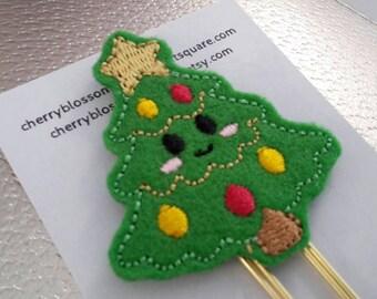 Kawaii Christmas Tree Paper Clip