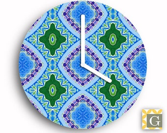 Wall Clock by GABBYClocks -  Agean