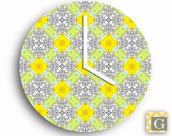 Wall Clock by GABBYClocks - Hennie Gray Petite