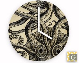 Wall Clock by GABBYClocks - Octopus Large