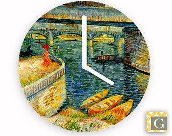 Wall Clock by GABBYClocks - Riviere