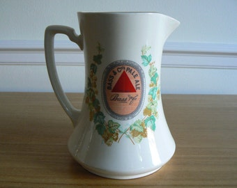 Beautiful Bass & Co Pale Ale Water Jug - 1970's