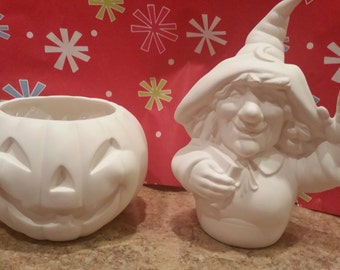 DIY Witch in Pumpkin