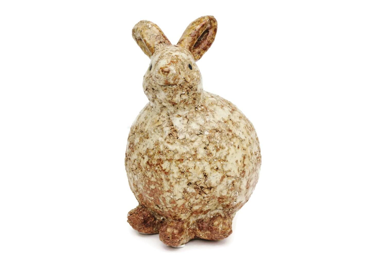 D co maison lapin animaux poterie c ramique vintage for Athezza decoration