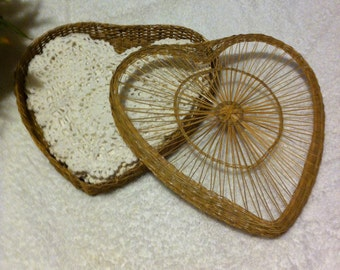 Loverly Heart Shaped Doilies