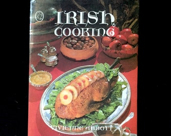 Vintage Irish Cookbook/Ethnic Cookbook/Ethnic Cooking/European Cooking/Ireland/St. Patrick's Day/Saint Patty's Day