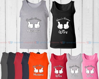 World's Greatest Wife & World's Greatest Husband - Matching Couple Tank Top - His and Her Tank Tops - Love Tank Tops