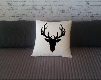 Cushion cover with Deer head   pillow cover 40x40 Free  shipping worldwide