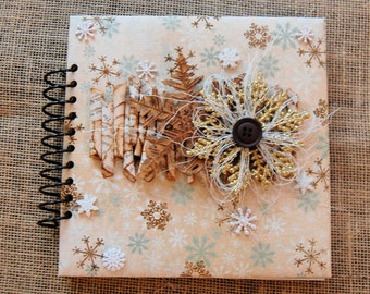 Mini Scrapbook- Imaginarium- Brag Book 8x8 Winter Album