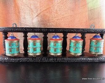 MILL A prayer Buddhist Tibetan wheel dharma meditation impermanence ritual chenrezi mantra compassion om mani pedme hum ref p7