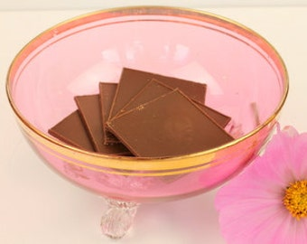 Cranberry Candy Dish