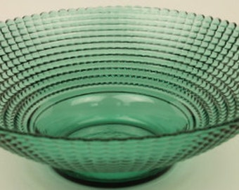 Fine Blue/Green Glass Bowl