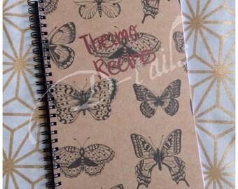 Blank Thermo Recipe Book