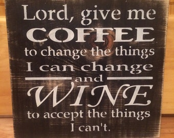 Give Me Coffee Lord Quote Wall The Best Collection of Quotes