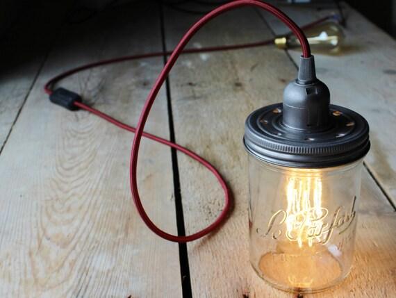 le parfait familia wiss einmachglas leuchte lampe mit jahrgang. Black Bedroom Furniture Sets. Home Design Ideas