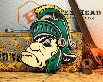 "Michigan State University ""Sparty"""