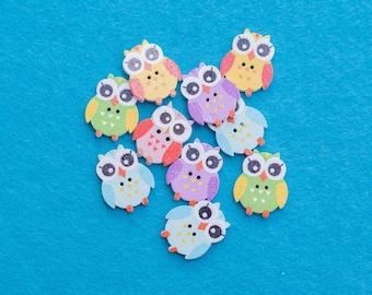 Owl Buttons