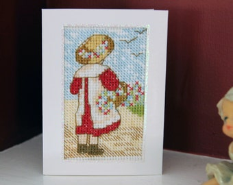 All Our Yesterdays Cross Stitch Card
