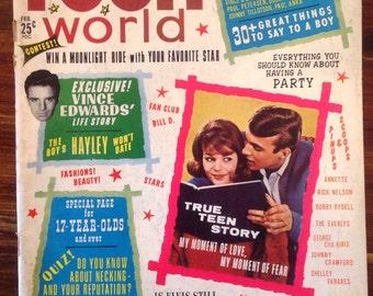 Teen World Magazine February  1963