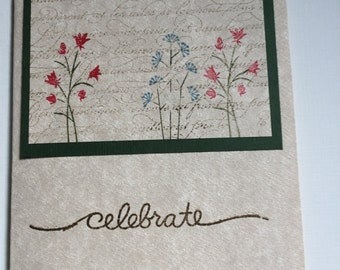 Greeting Card, Congratulations, Celebrate