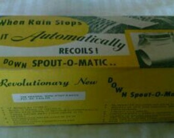 "The Revolutionary ""DOWNSPOUT-O-MATIC"" still in box!!!"
