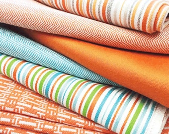 Outdoor fabric samples by Hotte Couture, Sunbrella Collection