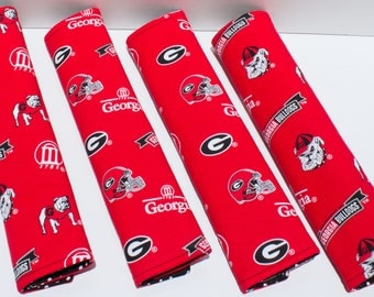 Georgia Bulldogs Seat Belt Cushions/Pad/Cover