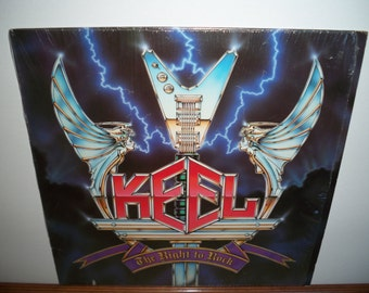 Keel - The Right To Rock  Vinyl LP Record Album