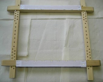 """New ITA 21x21"""" traditional slate frame for cross stitch"""