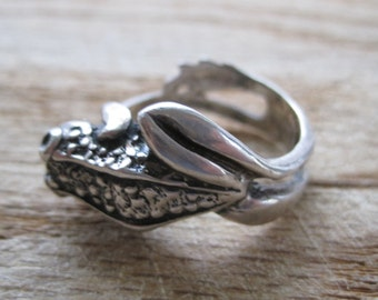 Sterling Frog Ring