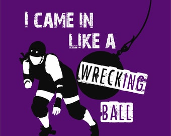 Roller Derby T-shirt - Wrecking Ball
