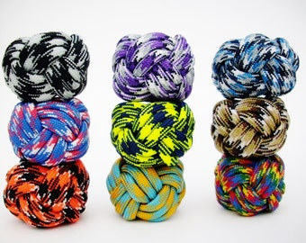 Turk's Head or  Woggle Knot Neckerchief Slide, Cub or Scout Para Cord Neckerchief Slide, Paracord Neckerchief Slide, Parachute Cord Woggle
