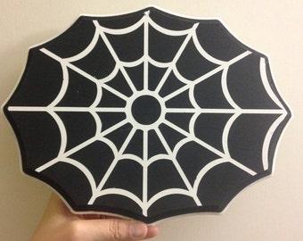 Spider Web wood sign