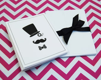 10 Mustache Cards