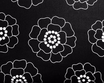 Contempo Studios PALM SPRINGS (BLACK) 100% Cotton Prem. Quilt Fabric-Per 1/2 yd