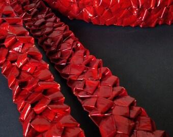 10m - Ruby Red Rochello Braid - FR