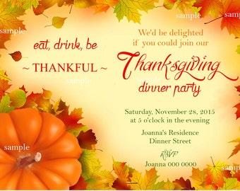 Thanksgiving,Thanksgiving invitation,Holiday cards, Thanksgiving dinner,Thanksgiving dinner invitation,Thanksgiving;