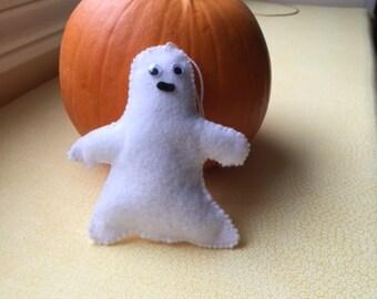 Ghost felt ornament, decoration
