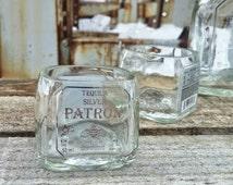 Patron Mini Tequila Bottle Shot Glasses