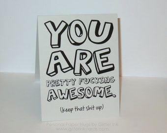 Funny Friendship Card - Funny Congratulations Card - Funny Just Because Card