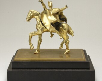 Salvador Dali Tragan War On Horseback Surrealist Sculpture Horse