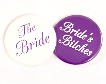 "Bachelorette Party Pin Back Button. 2.25"". Bride Button. Bridesmaid Button. Bridal Party Button. Bachelorette Button. Bachelorette Favor."