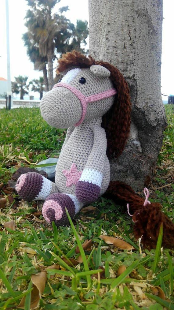 Amigurumi horse by TatianamhHandmade on Etsy