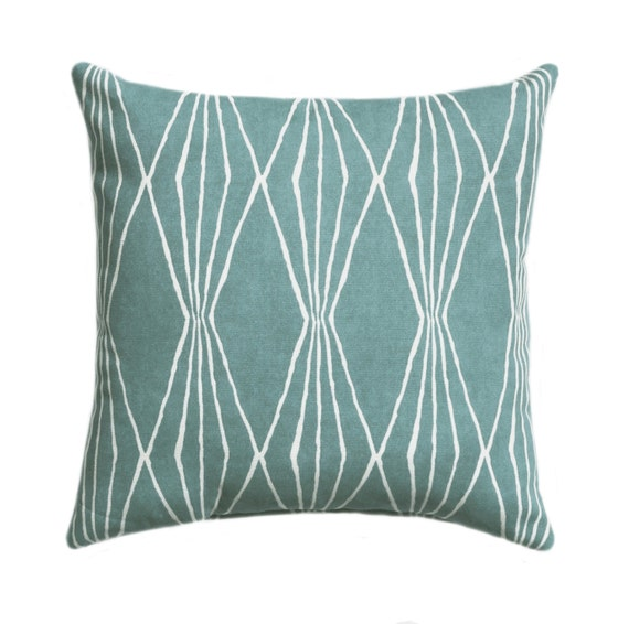 Types Of Decorative Pillow Shapes : Robert Allen Handcut Shapes Rain Geometric Decorative Pillow