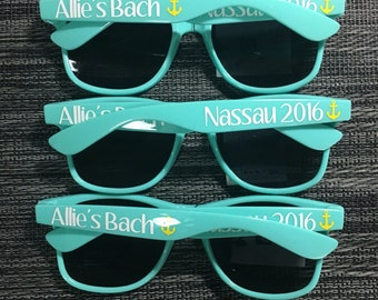 Custom Personalized Sunglasses - LOTS of COLOR Options