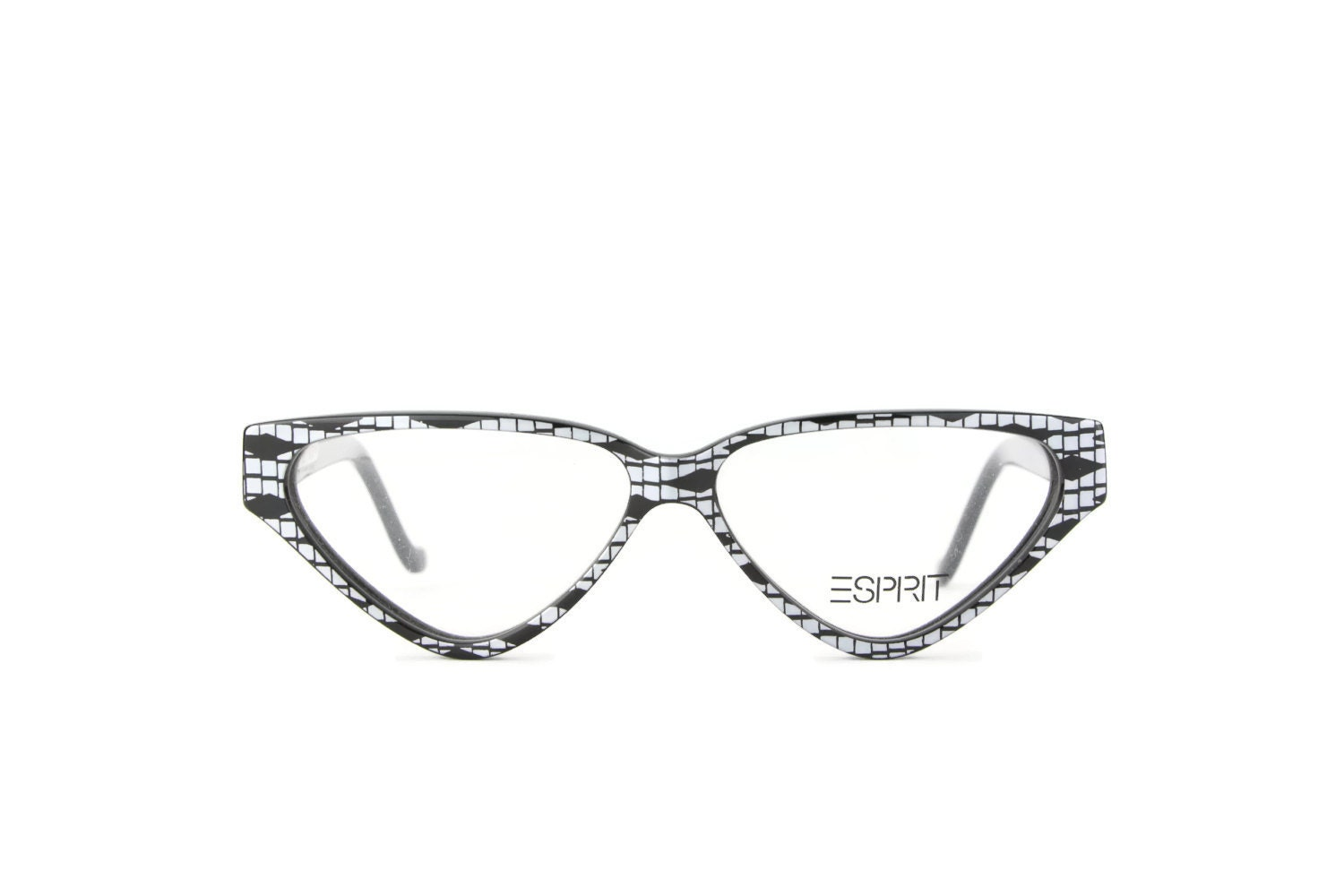 Glasses And Frame Shape : Black Glasses Frame shape men woman Eyewear Esprit square
