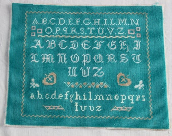 Vintage Alphabet Tapestry